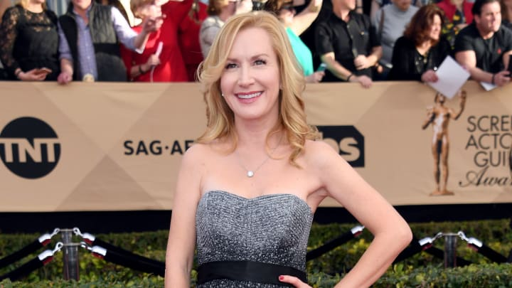 LOS ANGELES, CA - JANUARY 29:  Actor Angela Kinsey attends the 23rd Annual Screen Actors Guild Awards at The Shrine Expo Hall on January 29, 2017 in Los Angeles, California.  (Photo by Alberto E. Rodriguez/Getty Images)