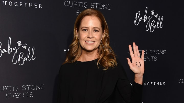 LOS ANGELES, CA - OCTOBER 19:  Jenna Fischer attends the 4th Adopt Together Baby Ball Gala on October 19, 2018 in Los Angeles, California.  (Photo by Michael Kovac/Getty Images for Adopt Together)