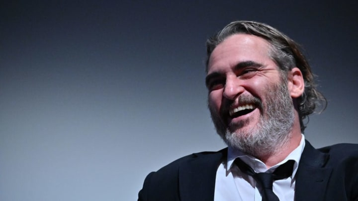 """NEW YORK, NEW YORK - OCTOBER 02:  Joaquin Phoenix attends the 57th New York Film Festival - """"Joker"""" Intro and Q&A at Alice Tully Hall, Lincoln Center on October 02, 2019 in New York City. (Photo by Theo Wargo/Getty Images for Film at Lincoln Center)"""