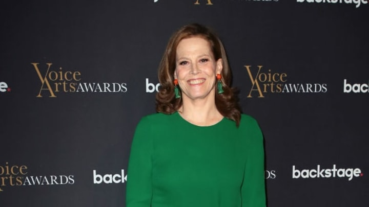 BURBANK, CALIFORNIA - NOVEMBER 18: Sigourney Weaver attends the 5th Annual Voice Arts Awards at Warner Bros. Studios on November 18, 2018 in Burbank, California. (Photo by David Livingston/Getty Images)