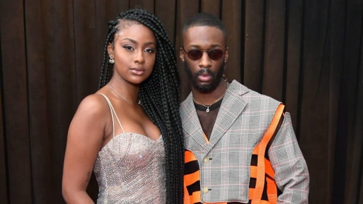 LOS ANGELES, CA - FEBRUARY 10:  Justine Skye and GoldLink attend the 61st Annual GRAMMY Awards at Staples Center on February 10, 2019 in Los Angeles, California.  (Photo by Neilson Barnard/Getty Images for The Recording Academy)