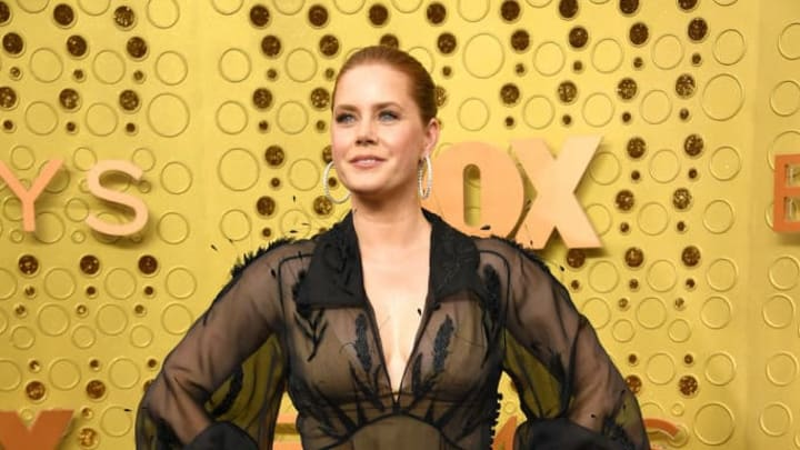LOS ANGELES, CALIFORNIA - SEPTEMBER 22:   Amy Adams attends the 71st Emmy Awards at Microsoft Theater on September 22, 2019 in Los Angeles, California.  (Photo by Kevin Mazur/Getty Images)