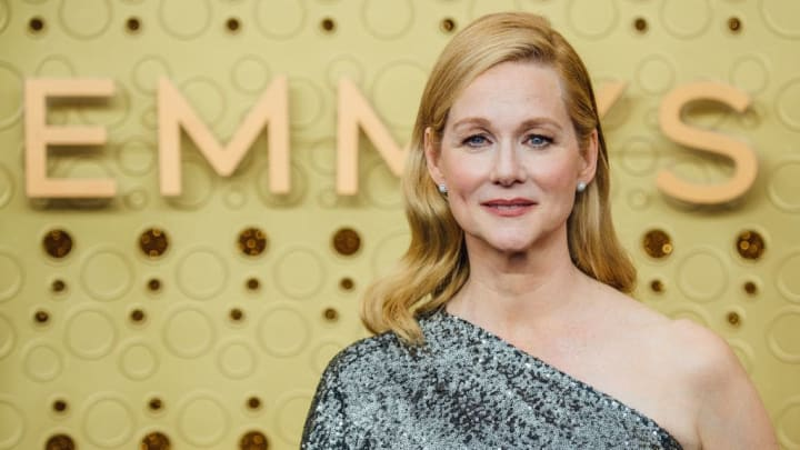 LOS ANGELES, CALIFORNIA - SEPTEMBER 22: (EDITORS NOTE: Image has been edited using digital filters) Laura Linney arrives at the 71st Emmy Awards at Microsoft Theater on September 22, 2019 in Los Angeles, California. (Photo by Emma McIntyre/Getty Images)