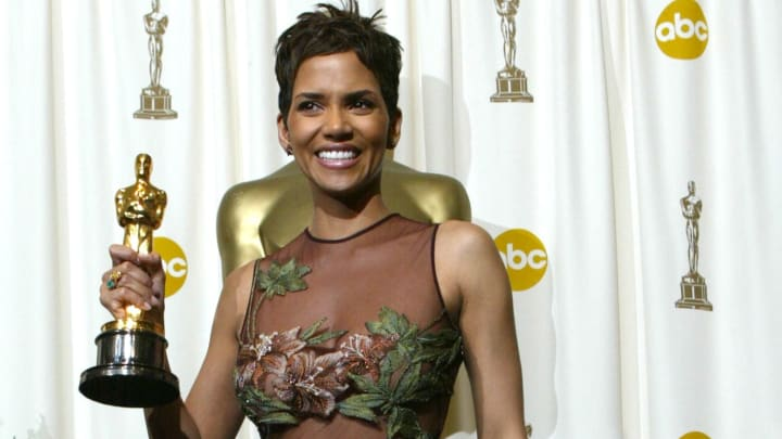 Halle Berry is one of the best dressed in Oscars red carpet history, here pictured in 2003