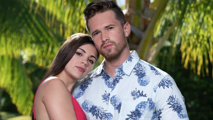 Ashley Howland and Casey Starchak Temptation Island