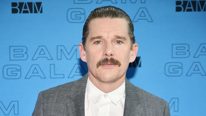 NEW YORK, NEW YORK - MAY 15: Ethan Hawke attends the BAM Gala 2019 on May 15, 2019 in New York City. (Photo by Theo Wargo/Getty Images  for BAM)