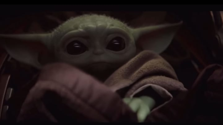 "The Child, nicknamed ""Baby Yoda"" in 'Star Wars: The Rise of Skywalker'"