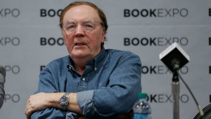 """NEW YORK, NY - JUNE 02:  Author James Patterson  speaks during the """"Audio Publishers Association"""" panel at the BookExpo 2017 at Javits Center on June 2, 2017 in New York City.  (Photo by John Lamparski/Getty Images)"""