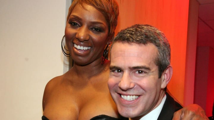 Bravo stars NeNe Leakes and Andy Cohen