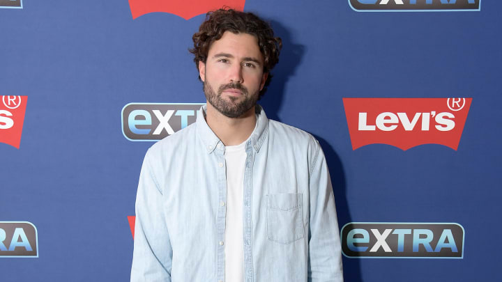 "NEW YORK, NEW YORK - JUNE 11: Brody Jenner visits ""Extra"" at The Levi's Store Times Square on June 11, 2019 in New York City. (Photo by Michael Loccisano/Getty Images)"