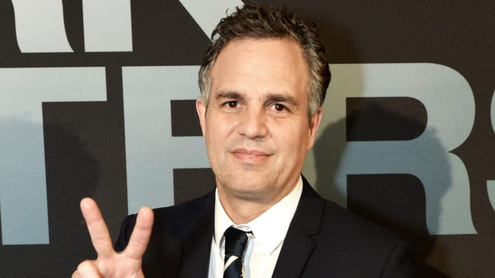 """WASHINGTON, DC - NOVEMBER 19: Actor Mark Ruffalo attends the Washington, DC premiere of the motion picture, """"Dark Waters"""", on November 19, 2019 in Washington, DC. (Photo by Shannon Finney/Getty Images)"""