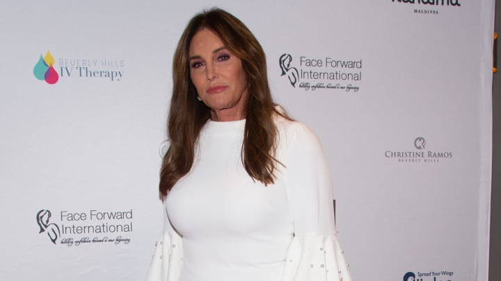 "LOS ANGELES, CALIFORNIA - SEPTEMBER 14: Caitlyn Jenner arrives for the Face Forward International 10th Annual Gala ""Highlands To The Hills"" on September 14, 2019 in Los Angeles, California. (Photo by Gabriel Olsen/Getty Images)"