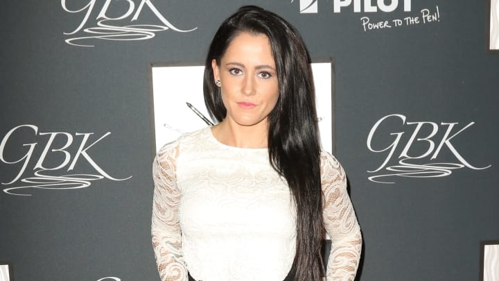 NEW YORK, NY - SEPTEMBER 15:  Jenelle Evans is seen at GBK's New York Fashion Week Style Lounge 2015 - Day 2 on September 15, 2015 in New York City.  (Photo by John Parra/Getty Images for GBK Productions)