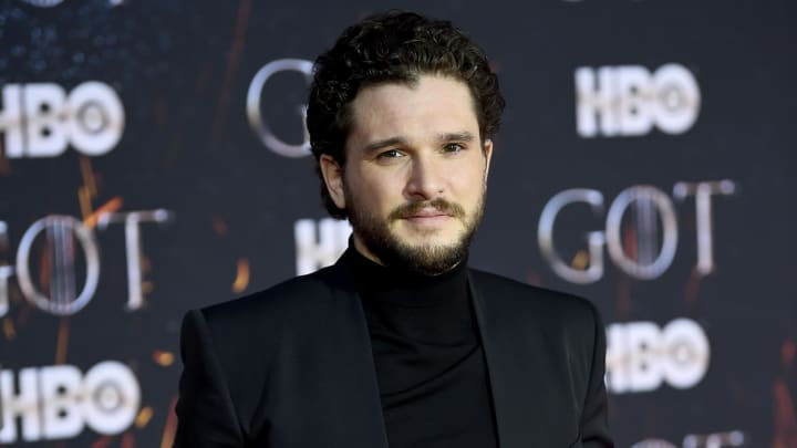 """NEW YORK, NEW YORK - APRIL 03: Kit Harington attends """"Game Of Thrones"""" Season 8 Premiere on April 03, 2019 in New York City. (Photo by Dimitrios Kambouris/Getty Images)"""