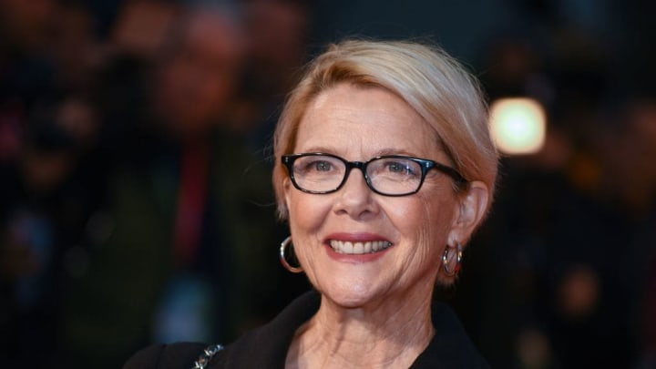 """LONDON, ENGLAND - OCTOBER 04: Annette Bening attends the """"Hope Gap"""" UK Premiere during 63rd BFI London Film Festival at Odeon Luxe Leicester Square on October 04, 2019 in London, England. (Photo by Gareth Cattermole/Getty Images for BFI)"""