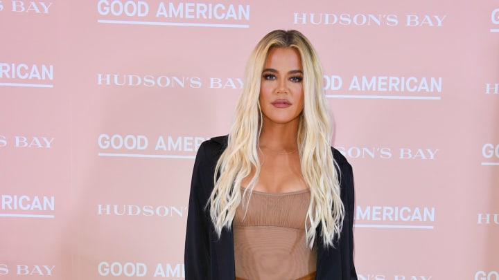 TORONTO, ONTARIO - SEPTEMBER 18:  Khloe Kardashian attends Hudson's Bay's launch of Good American in Toronto on September 18, 2019  (Photo by George Pimentel/Getty Images)