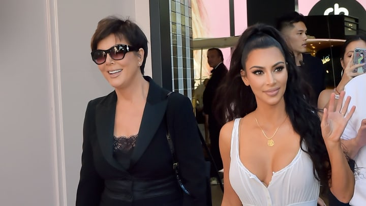 LOS ANGELES, CA - JUNE 30:  Kris Jenner (L) and Kim Kardashian West attend KKW Beauty Fan Event at KKW Beauty on June 30, 2018 in Los Angeles, California.  (Photo by Stefanie Keenan/Getty Images for ABA)