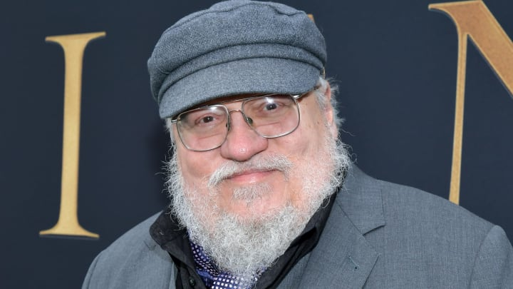 "WESTWOOD, CALIFORNIA - MAY 08: George R. R. Martin attends the LA Special Screening of Fox Searchlight Pictures' ""Tolkien"" at Regency Village Theatre on May 08, 2019 in Westwood, California. (Photo by Amy Sussman/Getty Images)"