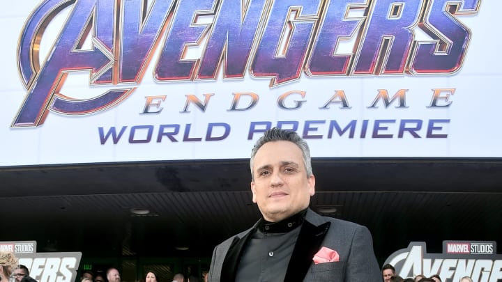 """LOS ANGELES, CA - APRIL 22:  Director Joe Russo attends the Los Angeles World Premiere of Marvel Studios' """"Avengers: Endgame"""" at the Los Angeles Convention Center on April 23, 2019 in Los Angeles, California.  (Photo by Alberto E. Rodriguez/Getty Images for Disney)"""
