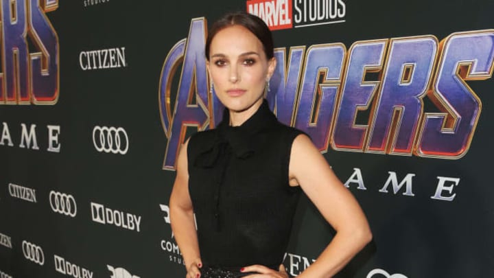 LOS ANGELES, CA - APRIL 22:  (L-R) Natalie Portman attends the Los Angeles World Premiere of Marvel Studios' 'Avengers: Endgame' at the Los Angeles Convention Center on April 23, 2019 in Los Angeles, California.  (Photo by Jesse Grant/Getty Images for Disney)