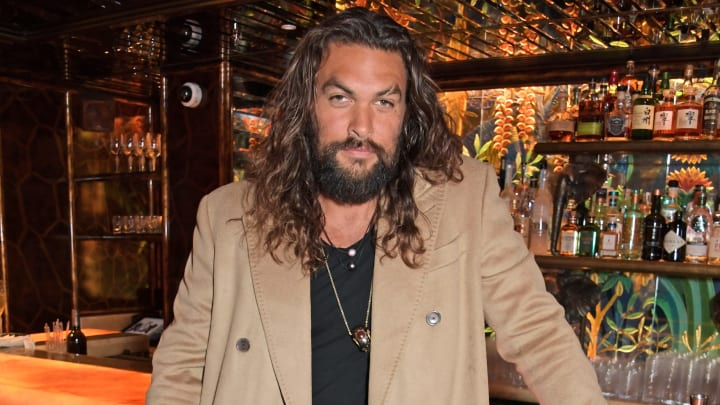 LONDON, ENGLAND - OCTOBER 23:   Jason Momoa attends an after party celebrating the re-opening of the Louis Vuitton New Bond Street Maison at Annabel's on October 23, 2019 in London, England.  (Photo by David M. Benett/Dave Benett/Getty Images for Louis Vuitton)