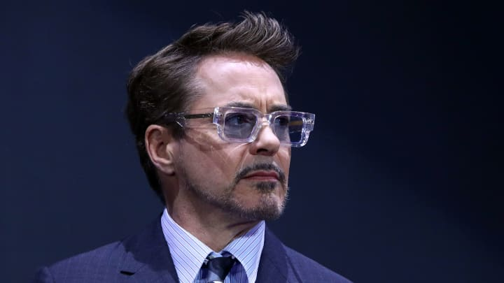 SEOUL, SOUTH KOREA - APRIL 15: Robert Downey Jr. attends the fan event for Marvel Studios' 'Avengers: Endgame' South Korea premiere on April 15, 2019 in Seoul, South Korea. (Photo by Chung Sung-Jun/Getty Images for Disney)
