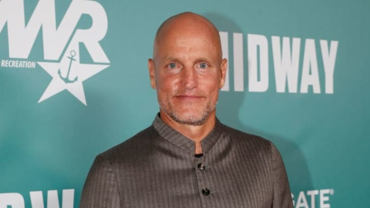 """HONOLULU, HAWAII - OCTOBER 20: Woody Harrelson arrives at the """"Midway"""" Special Screening at Joint Base Pearl Harbor-Hickam on October 20, 2019 in Honolulu, Hawaii. (Photo by Marco Garcia/Getty Images for Lionsgate Entertainment)"""