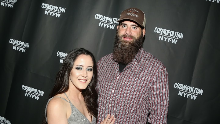 NEW YORK, NY - FEBRUARY 08:  (EXCLUSIVE COVERAGE) Janelle Evan and David Eason pose at the Cosmopolitan New York Fashon Week #Eye Candy event After Party at Planet Hollywood Times Square on February 8, 2019 in New York City.  (Photo by Bruce Glikas/Getty Images)