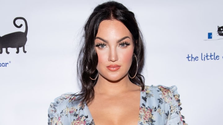 LOS ANGELES, CALIFORNIA - MARCH 27: Natalie Halcro attends the Nat&Liv Comino Collection Launch at The Little Door on March 27, 2019 in Los Angeles, California. (Photo by Emma McIntyre/Getty Images)
