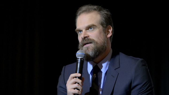 David Harbour teases 'Stranger Things' Season 4 at Comic Con Liverpool.