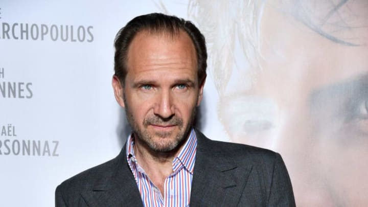 """PARIS, FRANCE - MAY 29: Ralph Fiennes attends the """"Noureev - The White Crow"""" Premiere at Cinema Gaumont Opera on May 29, 2019 in Paris, France. (Photo by Pascal Le Segretain/Getty Images)"""