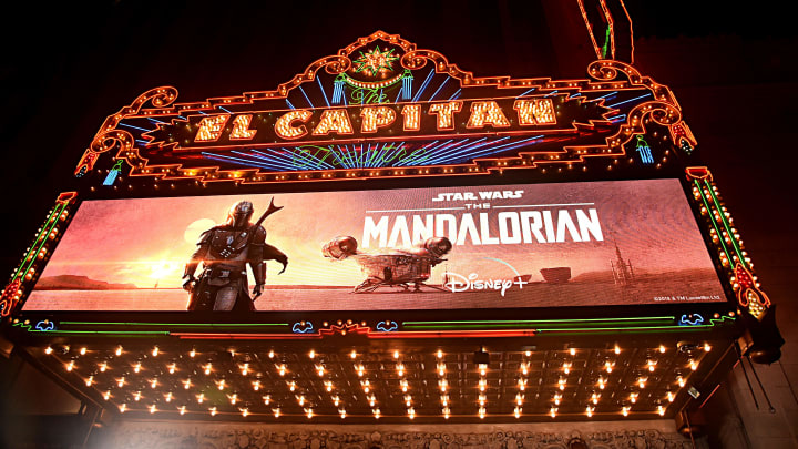 "Premiere And Q & A For ""The Mandalorian"""