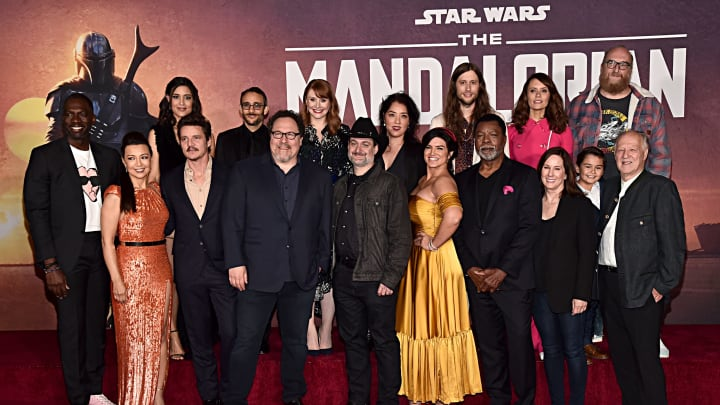 'Star Wars: The Mandalorian' cast and crew.