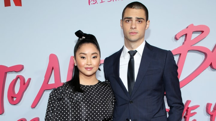 'To All the Boys' stars Lana Condor and Noah Centineo at the Netflix film's premiere