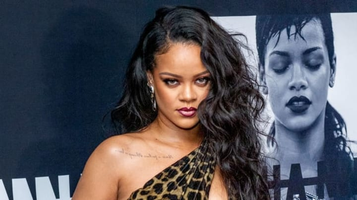 """NEW YORK, NEW YORK - OCTOBER 11: Singer Rihanna attends the launch of her first visual autobiography, """"Rihanna"""" at Guggenheim Museum on October 11, 2019 in New York City. (Photo by Roy Rochlin/Getty Images)"""