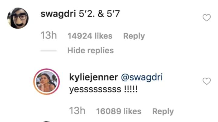 Instagram/Kylie Jenner