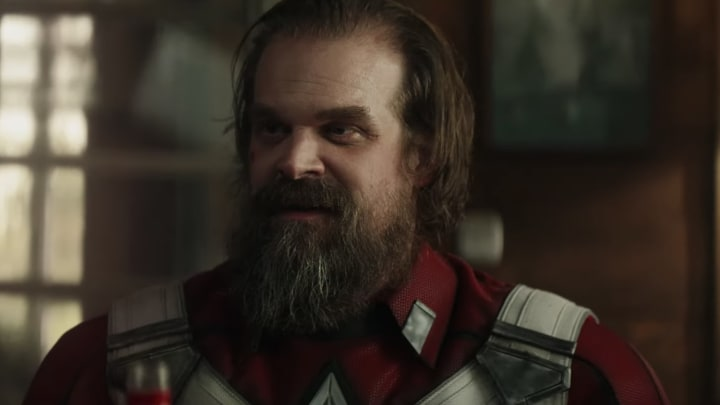 David Harbour stars as Red Guardian in Marvel's 'Black Widow,' debuting May 1, 2020.