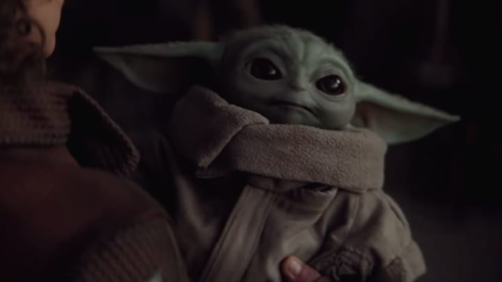 """The Child, or """"Baby Yoda,"""" from 'Star Wars: The Mandalorian'"""