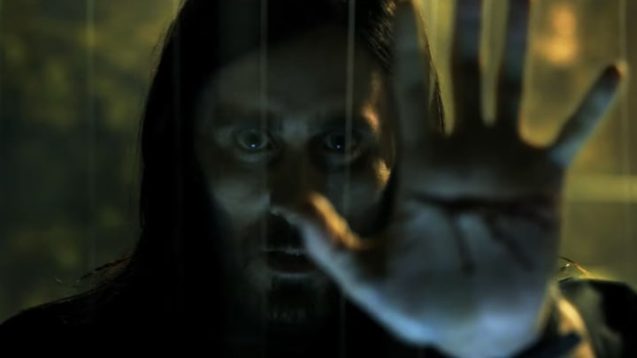 Jared Leto as Morbius, the living vampire in 'Morbius' first trailer