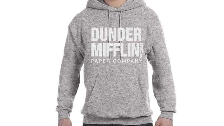 Dunder Mifflin sweatshirt available on Amazon
