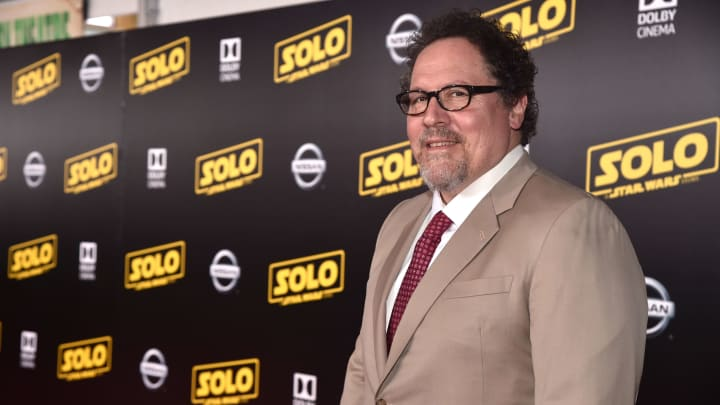 "HOLLYWOOD, CA - MAY 10: Actor Jon Favreau attends the world premiere of ""Solo: A Star Wars Story"" in Hollywood on May 10, 2018.  (Photo by Alberto E. Rodriguez/Getty Images for Disney)"
