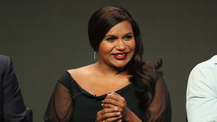 BEVERLY HILLS, CA - JULY 27:  Actor Mindy Kaling speaks onstage during Summer TCA at The Beverly Hilton Hotel on July 27, 2017 in Beverly Hills, California.  (Photo by Joe Scarnici/Getty Images for Hulu)