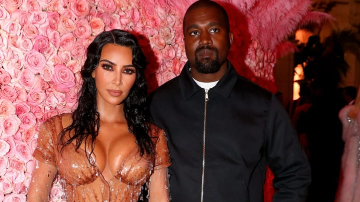 NEW YORK, NEW YORK - MAY 06: Kim Kardashian West and Kanye West attends The 2019 Met Gala Celebrating Camp: Notes on Fashion at Metropolitan Museum of Art on May 06, 2019 in New York City. (Photo by Kevin Tachman/MG19/Getty Images for The Met Museum/Vogue)