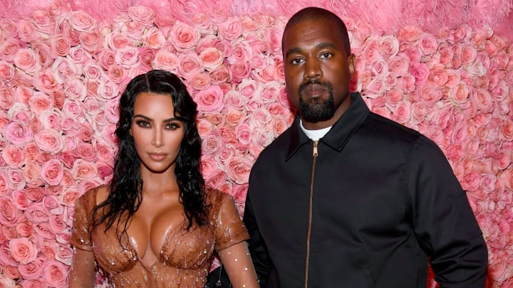NEW YORK, NEW YORK - MAY 06: Kim Kardashian West and Kanye West attend The 2019 Met Gala Celebrating Camp: Notes on Fashion at Metropolitan Museum of Art on May 06, 2019 in New York City. (Photo by Kevin Mazur/MG19/Getty Images for The Met Museum/Vogue)