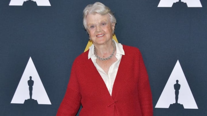 """BEVERLY HILLS, CALIFORNIA - OCTOBER 07: Angela Lansbury attends the inaugural Robert Osborne Celebration of Classic Film Series screening of """"Dodsworth"""" presented by The Academy at Samuel Goldwyn Theater on October 07, 2019 in Beverly Hills, California. (Photo by Amy Sussman/Getty Images)"""