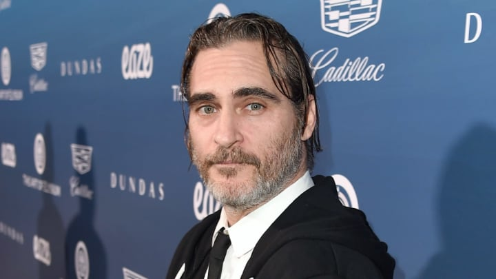 LOS ANGELES, CA - JANUARY 05:  Joaquin Phoenix attends Michael Muller's HEAVEN, presented by The Art of Elysium, on January 5, 2019 in Los Angeles, California.  (Photo by Kevin Winter/Getty Images)