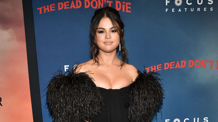 "NEW YORK, NEW YORK - JUNE 10:  Selena Gomez attends ""The Dead Don't Die"" New York Premiere at Museum of Modern Art on June 10, 2019 in New York City. (Photo by Theo Wargo/Getty Images)"