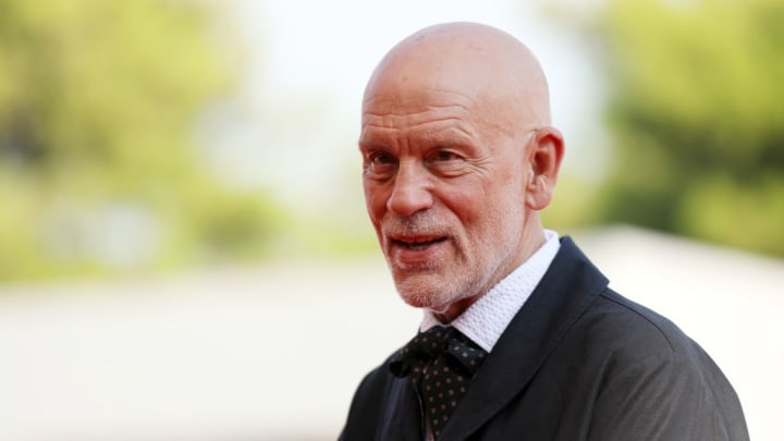 """VENICE, ITALY - SEPTEMBER 01: John Malkovich walks the red carpet ahead of """"The New Pope"""" screening during the 76th Venice Film Festival at Sala Grande on September 01, 2019 in Venice, Italy. (Photo by Tristan Fewings/Getty Images)"""