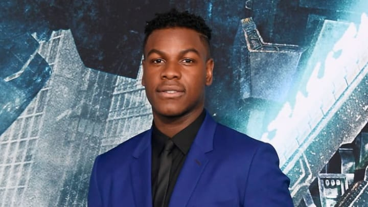 HOLLYWOOD, CA - MARCH 21:  John Boyega attends Universal's 'Pacific Rim Uprising' premiere  at TCL Chinese Theatre IMAX on March 21, 2018 in Hollywood, California.  (Photo by Frazer Harrison/Getty Images)