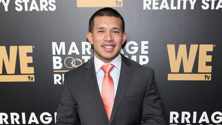 NEW YORK, NY - OCTOBER 12:  Javi Marroquin attends the exclusive premiere party for Marriage Boot Camp Reality Stars Season 9 hosted by WE tv on October 12, 2017 in New York City.  (Photo by Bennett Raglin/Getty Images for WE tv)